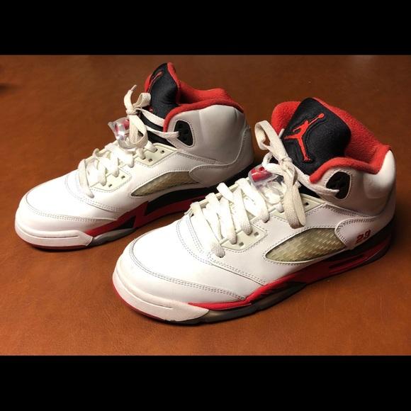 online store 415ba 32387 Nike Air Jordan Retro 5 kids size 7Y 440888 -120